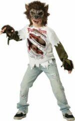 Zwarte Character Weerwolf kostuum voor kinderen - Premium - Verkleedkleding - 152/158