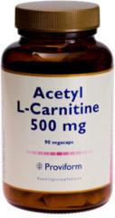 Acetyl L-carnitine 500 mg van Proviform : 90 vcaps