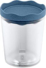 Koziol Bewaarpot Prince 0,75 Liter 14 Cm Donkerblauw/transparant