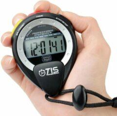 Tis Stopwatch Pro Waterdicht Met Nekkoord 8 Cm Zwart