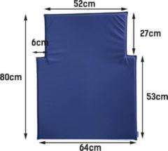Timkid aankleedkussen voor de KAWAFORM modellen in blauw of wit. Afwasbaar.