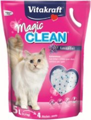 Vitakraft - kattenbakvulling - Magic Clean - lavendel - 5 L