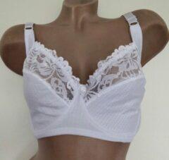 Witte Merkloos / Sans marque Bh niet voorgevormd met beugel 80E