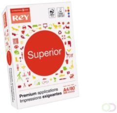 Rey Superior Document printpapier ft A4, 80 g, pak van 500 vel