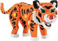 Toitoys Toi-toys 3d Puzzel Tijger Junior 31,5 Cm Foam Oranje 121 Delig