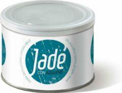 Donkerblauwe Jade Jadé Striphars met Azuleen │ ontharingswax │ Hars in blik │ wax can │stripwax │striphars voor ontharen van het gehele lichaam │400 ml