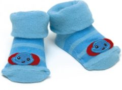 Fisher-price Sokken Olifant Blauw 0 - 6 Maanden