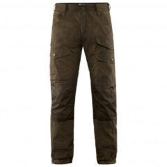 Fjällräven - Vidda Pro Ventilated Trousers - Trekkingbroeken maat 48 - Long - Fixed Length, bruin/zwart