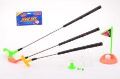 Johntoy Sportline Golfset met 3 verlengbare clubs