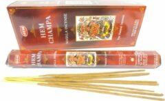 Rode Mountain-giftshop Hem Champa (HEM) los pakje a 20 stokjes