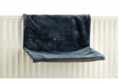 Beeztees Hangmat Sleepy voor aan een radiator - Kat - Blauw