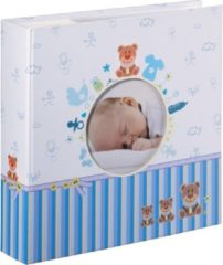 Baby slip-in/memo album Tim 10x15/200 blauw - Hama