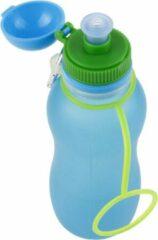 Zielonka Viv Bottle 3.0 - Opvouwbare Siliconen Drinkfles / Bidon - Blauw- 1500ML