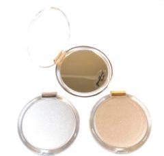 Gerard Brinard Gérard Brinard tasspiegeltje make-up spiegeltje zilver