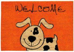 Schmutzfangmatte Hund Astra Orange