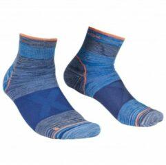 Blauwe Ortovox - Alpinist Quarter Socks - Multifunctionele sokken maat 45-47 blauw