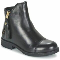 Zwarte Boots en enkellaarsjes J Agata C J5449C by Geox