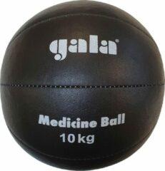 Gala Medicine Ball - Medicijn bal - 10 kg - Zwart Leer