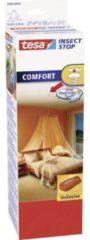 Tesa klamboe/muskietennet wit 2-persoons met ophanghaak - Slaapkamer accessoires/benodigdheden - Camping/caravan klamboe/insectennet - Klamboes/muskietennetten