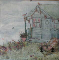 Sostrene grene Søstre Grene Servetten - Summerhouse in the Garden - 33 x 33