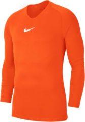 Nike Park Dry First Layer Longsleeve Thermoshirt - Maat XXL - Mannen - oranje/wit