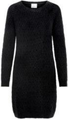 VERO MODA Long Sleeved Knitted Dress Women Black