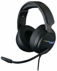 Zwarte The G-Lab Korp Thallium RGB Surround Gaming Headset - USB - Windows
