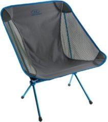 Highlander Campingstoel Minus One 50 X 66 Cm Polyester Blauw/grijs