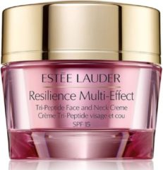 Giorgio Estée Lauder Resilience Multi-Effect Tri-Peptide Face and Neck Creme For Dry Skin Dagcrème 50 ml