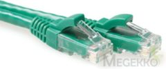 Groene ACT Advanced Cable Technology UTP-kabels Utp c6 patch snagl gn 20.0m. Eenh. 1 stk