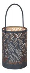 Antraciet-grijze Luxform tafellamp Vogue