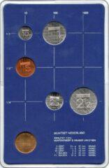 's Rijks Munt Nederland Jaarset Munten 1986 FDC