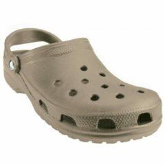 Crocs - Classic - Outdoor sandaal maat M12 grijs/beige