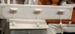 Gebroken-witte Clayre en Eef kapstok