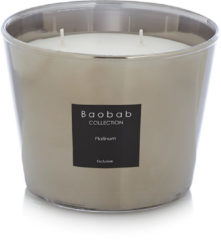 Zilveren Baobab Collection Platinum Exclusive geurkaars