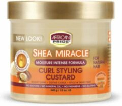 African Pride Shea Butter Miracle Styling Custard 350ml