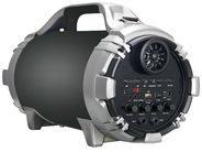 Conceptronic MASSIMO Kabelloser Bluetooth-Lautsprecher, schwarz