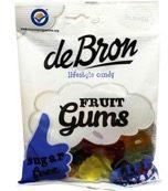 De Bron Fruitgums suikervrij 100 Gram