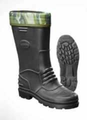Merkloos / Sans marque Rubberen laarzen EVA zwart met camouflage voering maat 43