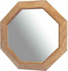 ARC Marine teakhouten achthoekige Spiegel 30x30cm