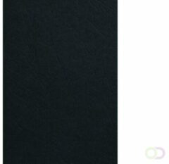 Bruna Voorblad GBC A4 lederlook zwart 100stuks