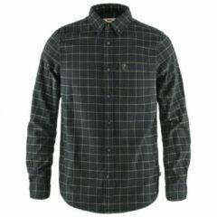 Fjällräven - Övik Flannel Shirt - Overhemd maat S, oranje/blauw/turkoois/olijfgroen/grijs/bruin/bruin/zwart/blauw/o