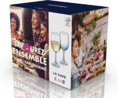 Luminarc 12x Stuks wijnglazen transparant 260 ml - Wijnglas voor rode of witte wijn op voet