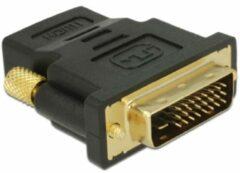 DeLOCK 65466 kabeladapter/verloopstukje DVI 24+1 HDMI Zwart