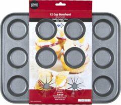 Wham Cook Essentials Bakvorm - Non Stick - Voor Broodjes - 12 Stuks