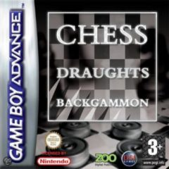 Zoo Digital 3-Pack Backgammon/Chess/Draughts
