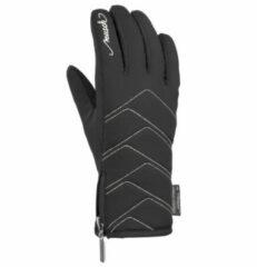 Zilveren Reusch Loredana TOUCH-TEC™ Dames Skihandschoenen - Blacksilver - Maat 6,5
