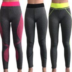 Belucci Sweet Angel Yoga annex sport-leggings set van 3