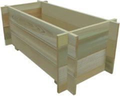 Bruine VidaXL Plantenbak 80x40x32 cm geïmpregneerd grenenhout