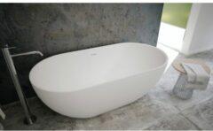 Ideavit SolidEra Vrijstaand bad 150x76cm Solid surface wit 290267